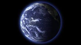 Giorno e notte su terra illustrazione vettoriale