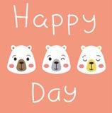 Giorno felice! Fotografia Stock