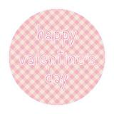 Giorno felice card4 del biglietto di S. Valentino s Immagini Stock Libere da Diritti