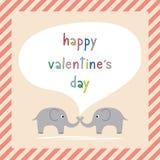 Giorno felice card8 del biglietto di S. Valentino s Immagine Stock