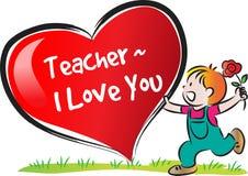 Giorno felice degli insegnanti Fotografia Stock