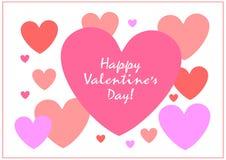 Giorno felice dei biglietti di S Sia il mio biglietto di S La carta del biglietto di S. Valentino ti amo, è il mio biglietto di S royalty illustrazione gratis