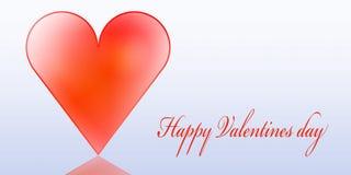 Giorno felice dei biglietti di S. Valentino Fotografia Stock Libera da Diritti