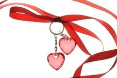 Giorno felice del biglietto di S. Valentino della st Immagini Stock Libere da Diritti