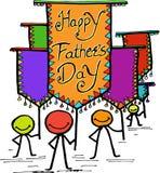 Giorno felice del ` s del padre royalty illustrazione gratis