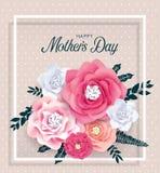 Giorno felice del `s della madre royalty illustrazione gratis