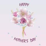 Giorno felice del `s della madre Immagini Stock Libere da Diritti