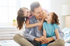 Giorno felice del ` s del padre immagini stock libere da diritti