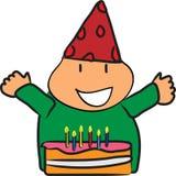 Giorno felice di nascita Immagini Stock Libere da Diritti