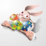 Giorno felice di Pasqua Fotografia Stock