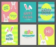 Giorno felice di Pasqua Immagini Stock Libere da Diritti