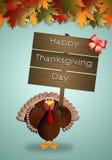 Giorno felice di Thankgiving Immagine Stock