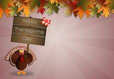 Giorno felice di Thankgiving Fotografia Stock Libera da Diritti