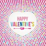 Giorno felice di Valentineâs Immagini Stock