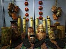 giorno festivo di gawai della decorazione fotografia stock libera da diritti