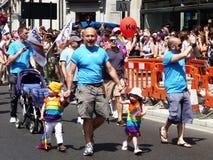 Giorno gaio 2010 di parata di orgoglio a Londra centrale Immagini Stock Libere da Diritti