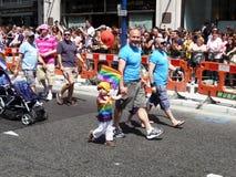 Giorno gaio 2010 di parata di orgoglio a Londra centrale Immagine Stock Libera da Diritti