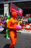 Giorno gaio 2010 di parata di orgoglio a Londra centrale Fotografie Stock