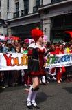 Giorno gaio 2010 di parata di orgoglio a Londra centrale Fotografia Stock Libera da Diritti