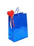 Giorno Gift.Isolated dei biglietti di S. Valentino. Fotografia Stock