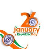 Giorno indiano della Repubblica Fotografie Stock Libere da Diritti