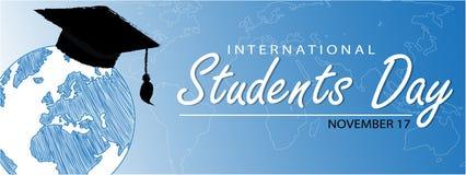 Giorno internazionale degli studenti Immagini Stock