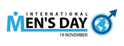 Giorno internazionale del ` s degli uomini Fotografia Stock Libera da Diritti
