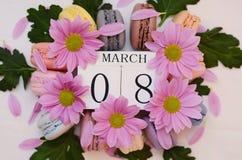 Giorno internazionale del ` s delle donne, l'8 marzo Fotografie Stock Libere da Diritti