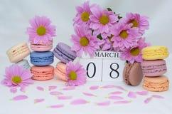 Giorno internazionale del ` s delle donne, l'8 marzo Fotografia Stock Libera da Diritti