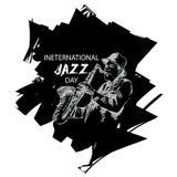 Giorno internazionale di jazz Fotografie Stock