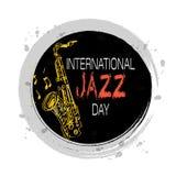 Giorno internazionale di jazz Fotografie Stock Libere da Diritti