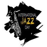 Giorno internazionale di jazz Immagini Stock