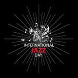 Giorno internazionale di jazz Immagine Stock