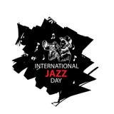 Giorno internazionale di jazz Immagine Stock Libera da Diritti