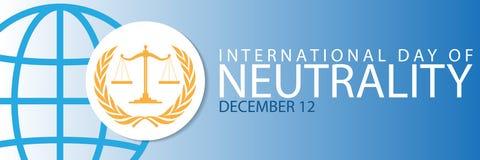 Giorno internazionale di neutralità Fotografia Stock Libera da Diritti