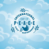 Giorno internazionale di pace Fotografia Stock