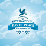 Giorno internazionale di pace Immagine Stock Libera da Diritti