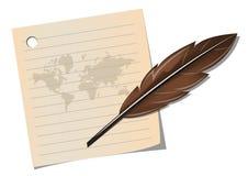 Giorno internazionale di poesia Fotografie Stock