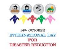 Giorno internazionale per il fondo di riduzione di disastro Fotografia Stock