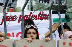 Giorno internazionale 2015-Vienna di Al Quds Fotografie Stock Libere da Diritti