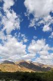 Giorno luminoso nelle montagne del Perù Immagine Stock Libera da Diritti
