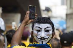 Giorno 2, Malesia di raduno Bersih4 Immagini Stock Libere da Diritti