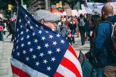 Giorno marzo, Los Angeles del centro di immigrazione Immagini Stock