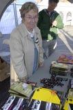 GIORNO _MS DELLA LETTURA DI DENMARKS MINISTRO DI MARIANNE JELVED Fotografia Stock Libera da Diritti