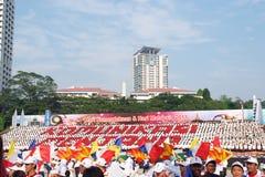 Giorno nazionale della Malesia Fotografia Stock Libera da Diritti