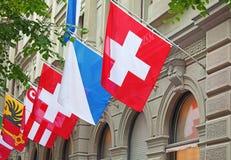 Giorno nazionale svizzero a Zurigo Immagini Stock Libere da Diritti