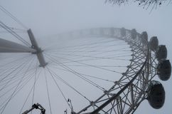 Giorno nebbioso a Londra Fotografia Stock