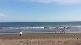 Giorno nella spiaggia Fotografie Stock