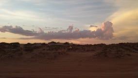 Giorno nella spiaggia Immagini Stock