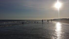 Giorno nella spiaggia Fotografia Stock